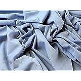 Patterned denim dress fabric