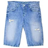Camp David, Robi Skater, Kurze Jeans Shorts Bermudas, Denim, Blue Used, W 36 [21134]
