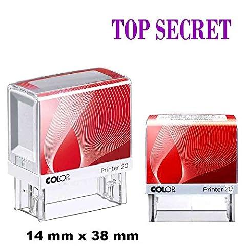 Top Secret selbstfärbende Stempel Custom COLOP Büro stationären 14 X