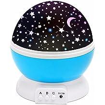 (Promotions)SOLMORE Lampada Stelle LED Luna proiettore cielo