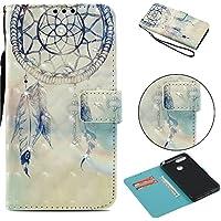 Everainy Huawei Y6 2018/Huawei Honor 7A Hülle Silikon PU Leder Flip Wallet Case Gummi Schutzhülle Kartenfach Magnet... preisvergleich bei billige-tabletten.eu