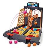 Basketball Spiel Spielzeug, Fansport Mini Tisch Spielzeug Bildungs Kunststoff Desktop Spielzeug Interaktives Spiel für Kinder
