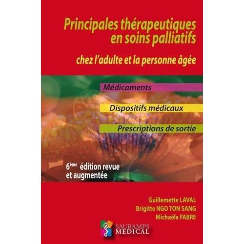 Principales thérapeutiques en soins palliatifs chez l'adulte personne âgée
