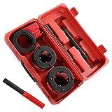 rg-vertrieb Schneidkluppe Gewindeschneider Rohrschneider Kluppe Gewindeschneidkluppe Schneidkluppensatz 4 Sets (6-teiliges Set)