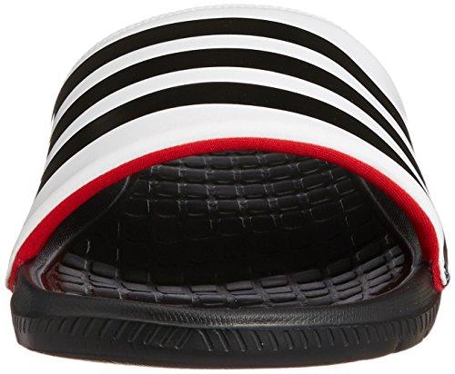 adidas  Voloomix, Ouvertes à l'arrière homme Noir - Noir/blanc