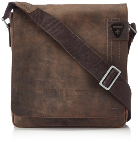 Strellson Richmond Sac bandoulière cuir 31 cm Braun (dark brown 702)