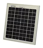 10W AKT Solar Panel for Caravan, Boat, Motor Home, Garden