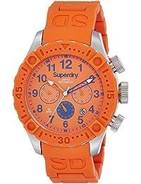 Superdry Analog Orange Dial Men's Watch - SYG142O