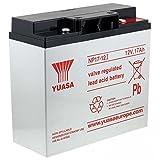 Yuasa Bleiakku NP17-12I VDs kompatibel mit Hawker Enersys Genesis NP18-12R, 12V, Lead-Acid