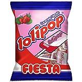 Fiesta Lolipop Caramelo con Palo - 80 gr - [Pack de 5]