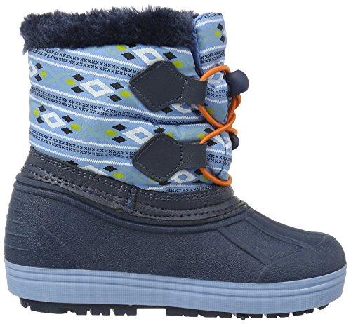Die Eiskönigin Boys Kids Snowboot Booties, Bottes mi-hauteur avec doublure chaude garçon Bleu - Blau (MBL/Lnv/NAV 169)