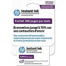 HP Instant Ink Forfait 300 pages Compatible avec Imprimante HP Deskjet/ENVY/ENVY Photo/OfficeJet/OfficeJet Pro