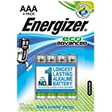Energizer Batterie Eco Advanced AAA (Micro / LR03 4er-Packung)