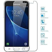 EasyAcc Samsung Galaxy J3 2016 vetro temperato protezione dello schermo Invisible Shield pellicola della protezione (Silicon Schermo Pelle Della Protezione)