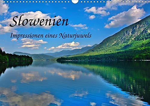 Slowenien - Impressionen eines Naturjuwels (Wandkalender 2020 DIN A3 quer): Kleines Land mit großartiger Natur (Monatskalender, 14 Seiten ) (CALVENDO Natur)