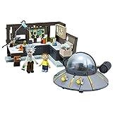 Rick & Morty 12884 - Juego de construcción de Navaja Espacial y Garaje,, tamaño Grande