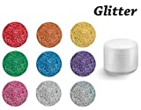 Colaxy *PREMIUM* Farbgele 5ml - GLITTER - GL92 Gold Glitter