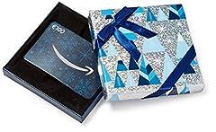 Idea Regalo - Buono Regalo Amazon.it - € 100 (Cofanetto blu e argento)