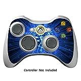 Manette Xbox 360 Peaux Jeux Xbox 360 Vinyle Autocollants Xbox 360 D¡§?calcomanies - Blue Explosion