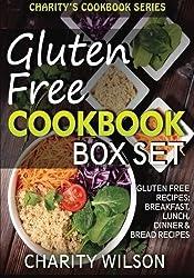 Gluten Free Cookbook Box Set: Gluten Free Recipes: Breakfast, Lunch, Dinner & Bread Recipes by Charity Wilson (2015-02-23)