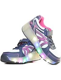 Runaway zapatos Los zapatos con ruedas Zapatos sola rueda zapatos con ruedas, negro-con ruedas, EU 33