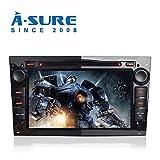 A-SURE Autoradio DVD GPS Mirrorlink USB SD Navigation Auto Navi RDS DAB VMCD für OPEL Antara Corsa Vectra Zafira Vivaro ZTOVBQ