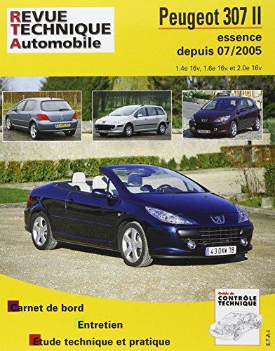 revue technique B714.6 Peugeot 307ii + Cc 06/05> Ess 1,4/1,6/2,0