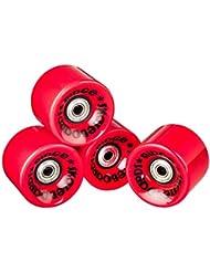 Ridge Cruiser - Ruedas de monopatín, color rojo, tamaño 59mm