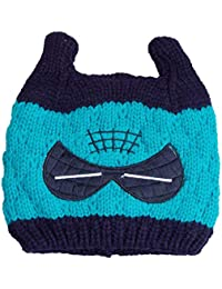 Gubbarey Winter Wear Caps Woolen Caps Kintted Caps for Babies and Kids  Cashmere Thick Cap( 70423f50c