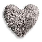 Eminza Cojín Corazón Marmota Gris