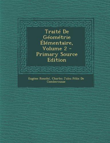 Traite de Geometrie Elementaire, Volume 2