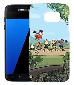 FCS Printed Designer Hard Back Case For Samsung Galaxy S7