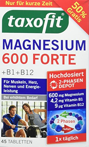 taxofit Magnesium Depot 600 Forte, 45 Tabletten