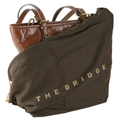 Leder Story cm 26 Donna Nero The Bridge Shopper HCxgZZUq
