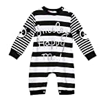 Kids Baby Boys Long Sleeve Stripe Rompers Bodysuit Jumpsuit Clothes Outfit by Occtiop