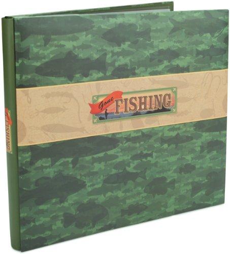 karen-foster-12-x-12-inch-gone-fishing-post-bound-album-multi-colour
