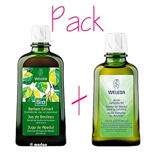 Packplan Detox Weleda (Birkensaft + Birkenöl)