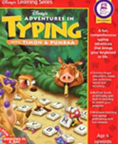 Adventures in Typing with Timon & Pumbaa