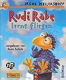 Rudi Rabe lernt fliegen/Rudi der Sturmrabe: Sprecher: Ilona Schulz, 1 MC 68 Min.