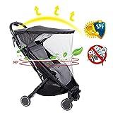 Per Parasoles y Mosquiteras para Silla de Paseo de Bebés Universales Protectores de Lluvia e Insectos Parasoles Anti-UV de Verano