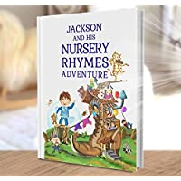 Personalised Gift for Baby and Child - A Personalised Book of Nursery Rhymes and Modern Poems - Ideal Christening Birthday Gift