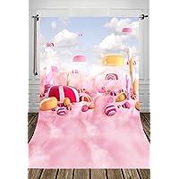 Coloc Photo 150*220cm décors en le tissu de l'art pour la photographie - enfants bébé mignon fond la photographie - rose bande dessinée photographie décors D-8024