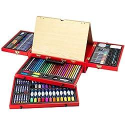 itsImagical - Art Studio Da Vinci, maletín de dibujo y pintura (Imaginarium 75336)