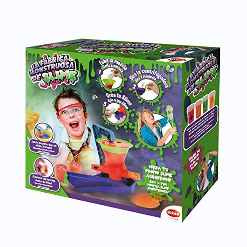 Mundo Monstruos- Fábrica Slime,, única (Bizak 63317005)