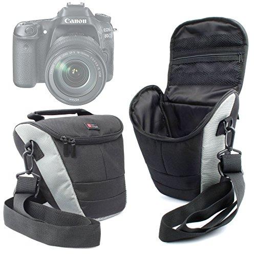 duragadget-bandolera-para-camara-canon-eos-1300d-rebel-t6-correa-ajustable-negra-y-gris