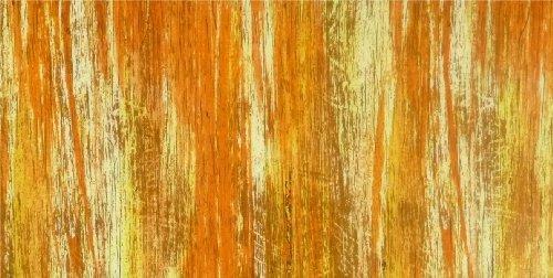 Wachsplatte orange-gelb, multicolor 20x10 cm - 9730 - Verzierwachsplatte 200x100 mm für Kerzen