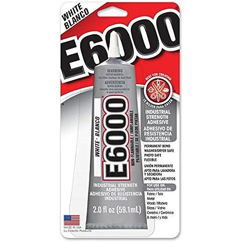 E6000 Multi-Purpose Adhesive-White 60ml