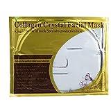Mangotree 5pcs Super Hydratisierende Gesicht Crystal Collagen Tiefe Gewebe Verjüngung Gesichtsmaske Unisex (Weiß)