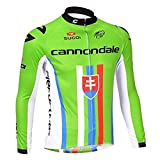 Strgao 2016 Herren Winter Radtrikot Pro Team Cannondale MTB Thermal Langarm Radjacke Radfahren Oberteil
