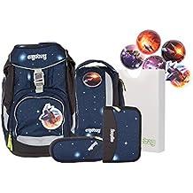 174f89bd07ee7 Ergobag Special Edition Galaxy Schulrucksack Schulranzen Set 6-TLG. 35 cm